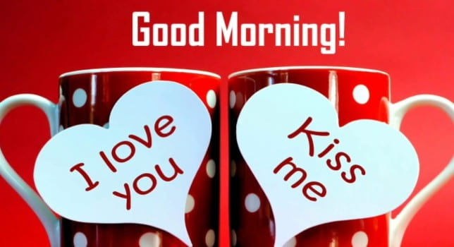 good morning kiss for girlfriend