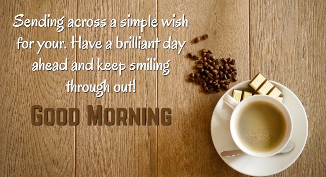 cute good morning wishes for facebook