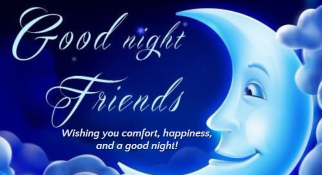 Inspiration Good Night Wishes for Friend