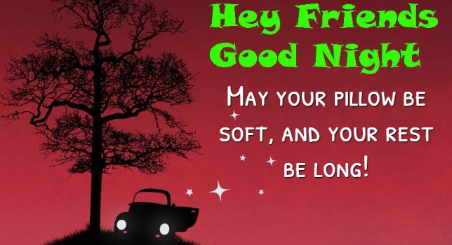funny good night wishes for friend