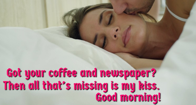 Sweet Morning Wish For My WIfe