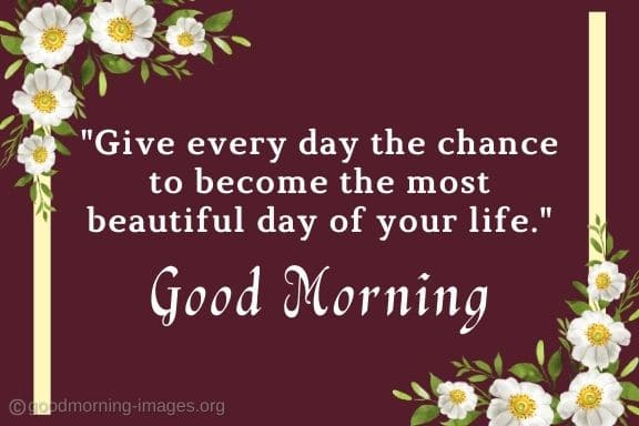amazing Good Morning Images With Positive Words