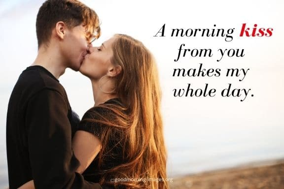 good morning love images with quotes